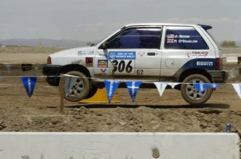 Ford Festiva Rally car:
