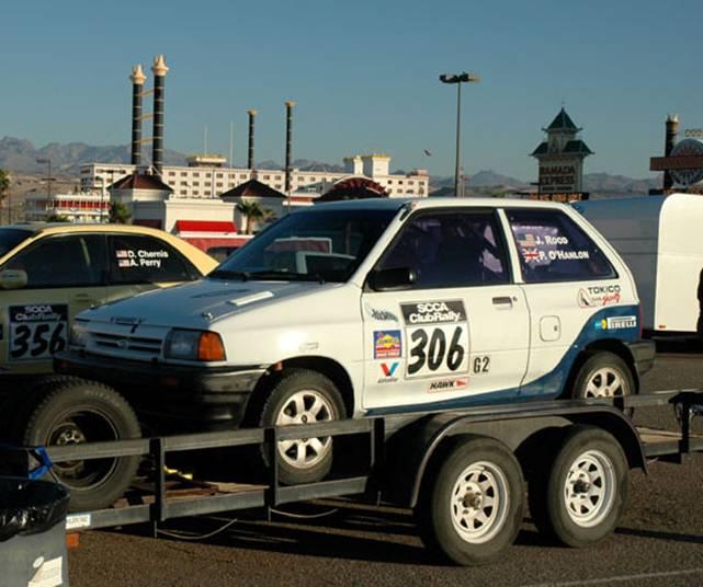 Jon Roods Rally Car 306