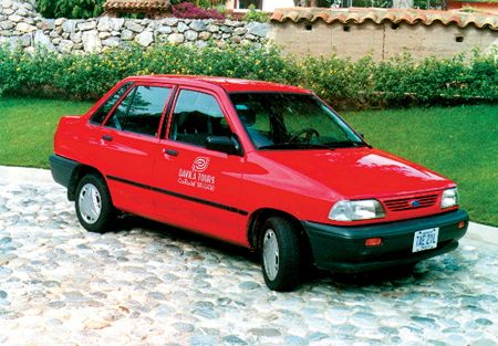 4 Door Versions Of Festiva Are Commonly Used By The Travel Touring Business And Rental Car Companies