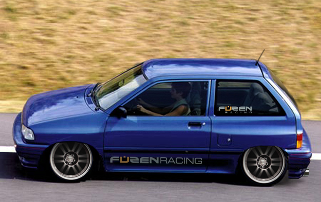 FUZEN Racing KIA Pride Concept
